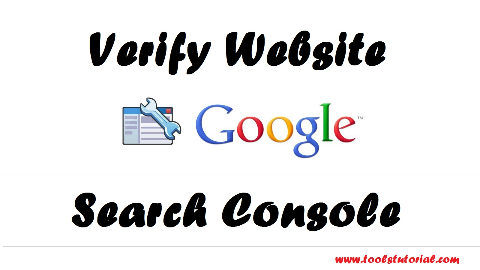 Verify Website in Google Search Console in Hindi
