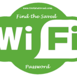 find the saved wifi password