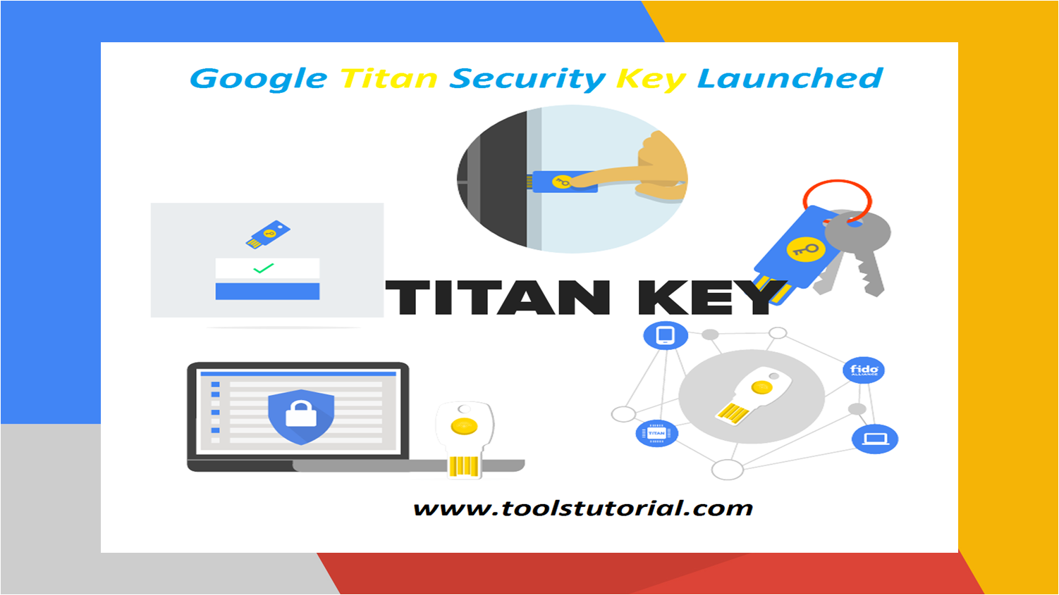 Google Titan Security Key launched