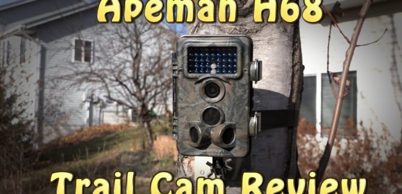 Best Apeman H68 Trail Camera 2018