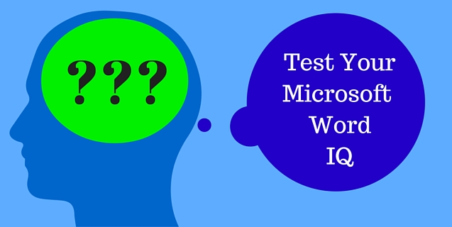 Importance of Microsoft Word Test