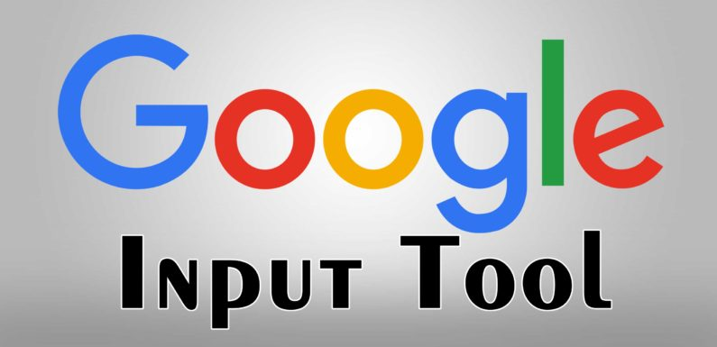 How to Use Google Input Tools in Windows