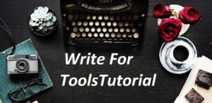 write for toolstutorial