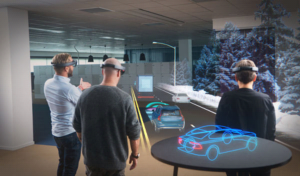 The Evolution of the Two Immersive Technologies-AR and VR